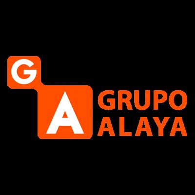 Logo Grupo Alaya por Ticmatic desarrollo web marketing online en Vitoria Gasteiz