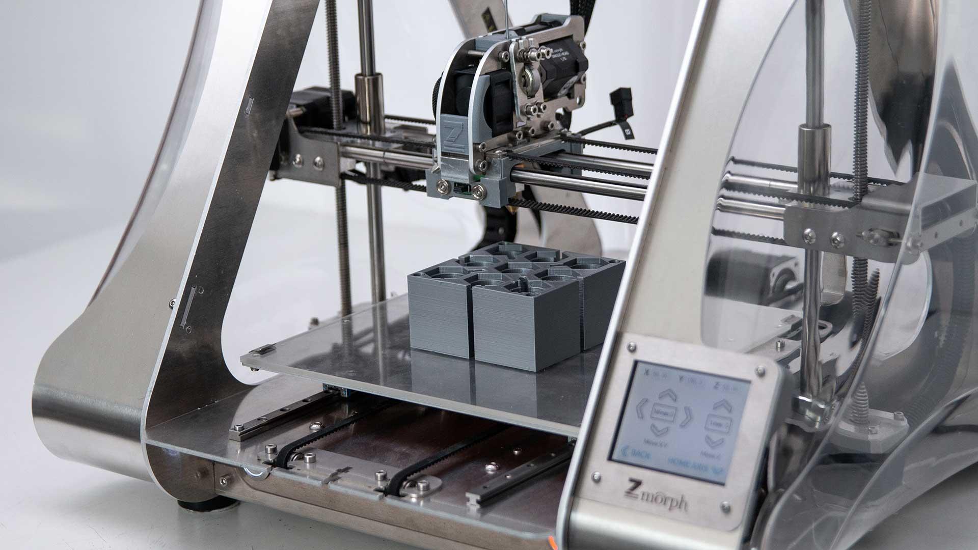 impresora 3D trabajando