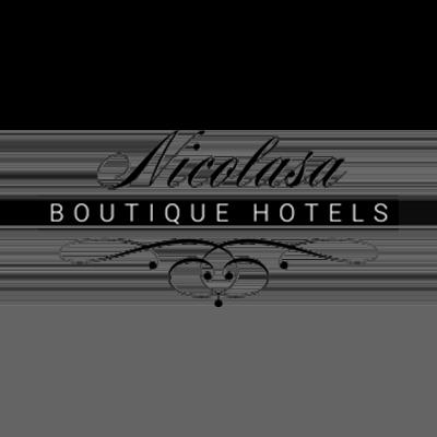 Logo Nicolasa Boutique Hotels por Ticmatic