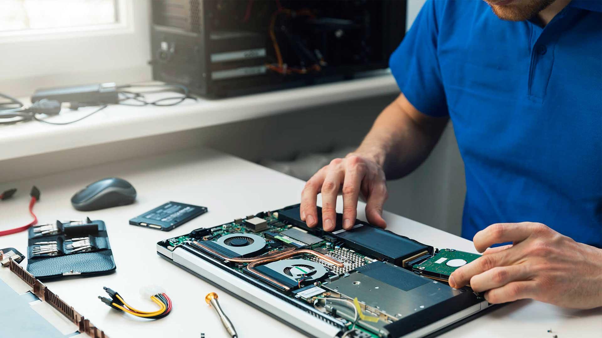 Mantenimiento y servicio técnico a empresas y particulares